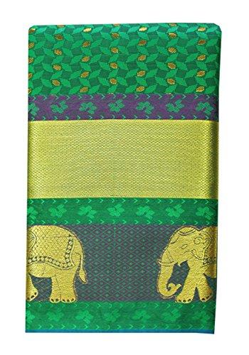 Saravanabava Silks - Kanchipuram Silks Sarees ( Mixed Pattu Body Butta Traditional...