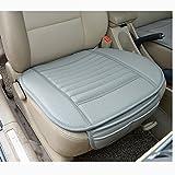 Sedeta® Beste Innen PU-Leder-Auto-Sitzkissen vorne Pad Schutzmatte Bezüge für Fahrer 1PCS Fahrzeug