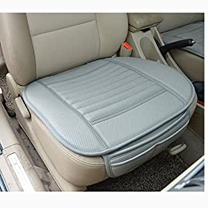 sedeta best interior pu leather car seat cushion front pad protector mat covers for driver 1pcs. Black Bedroom Furniture Sets. Home Design Ideas