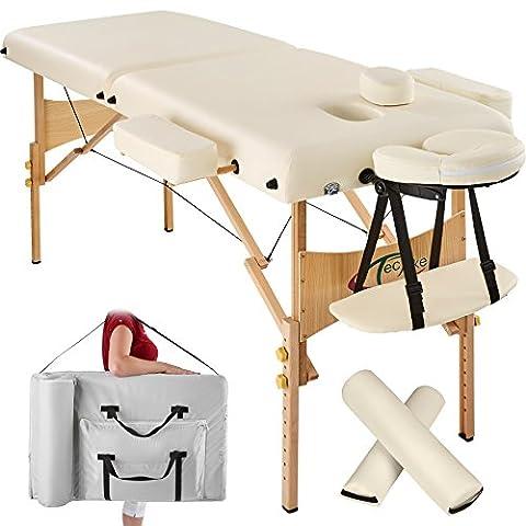 Table Ronde Legere - TecTake Table Lit de Massage Pliante Portable
