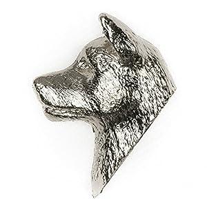 Akita Inu Made in UK, Collezione Distintivo Spilla Artistici Stile Cani