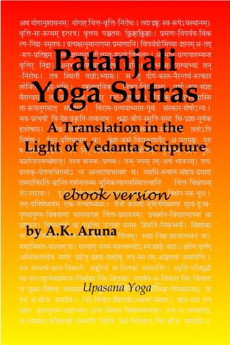 Patanjali Yoga Sutras: A Translation in the Light of Vedanta ...