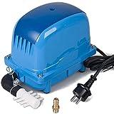 AquaForte Luftpumpe AP-80, 55Watt, 84l/min bei 1 Meter, max. Druck 3,6m