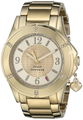 Juicy Couture Juicy Girl (Juicy Couture Damen 1901200 Rich Girl Analog Display Quarz Gold Armbanduhr)