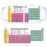 trendaffe - Kaffeebecher mit Periodensystem der Elemente Motiv