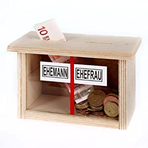 Cera & Toys Spardose für Eheleute