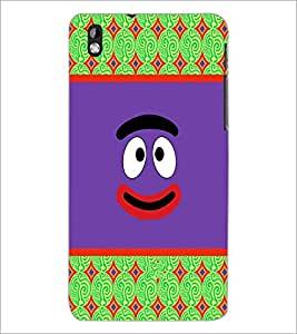 PrintDhaba Cartoon D-3311 Back Case Cover for HTC DESIRE 816 (Multi-Coloured)