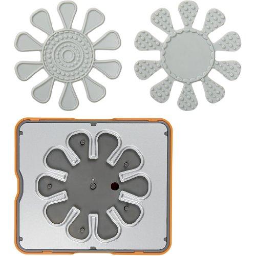 Fiskars Fuse® - Design Stempeldruckplatte, 10x12 cm, Blume, 1 Stck. - Fiskar Blume Stanze