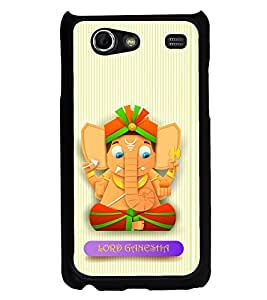 ifasho Modern Art Ganesh Back Case Cover for Samsung Galaxy S Advance i9070