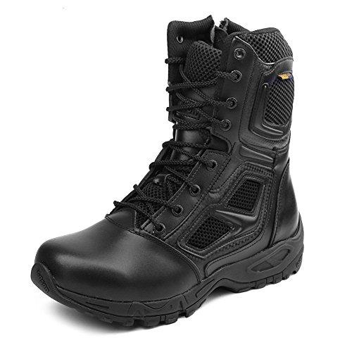 IODSON Zapatos de Hombre Botas/Botas de Combate/Botas Tácticas...