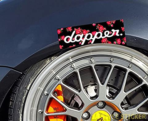 dapper Aufkleber low lws style sticker dirty deep abgelegt Sticker Blumen Car Style sticker bomb