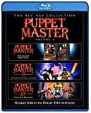 Puppet Master 1-3 Ultimate Collector's Edition Blu-ray Slimline Set