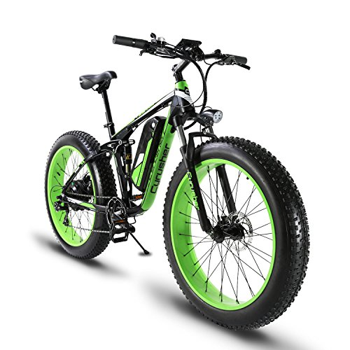 51gp o%2BcykL. SS500  - Extrbici XF800 1000W 48V13AH Electric Mountain Bike Full Suspension