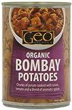 Geo Organics Organic Bombay Potatoes 400 g (Pack of 6)
