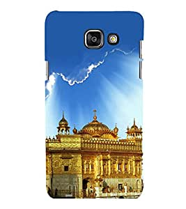 printtech Golden Temple Punjab Back Case Cover for Samsung Galaxy A7 2016 Edition