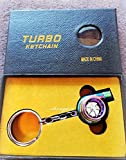 Mechanic Car Gear Changer GearBox Shifter Keychain 5 Colours ACTUAL UK STOCK (Turbo Charger Neon Chrome)