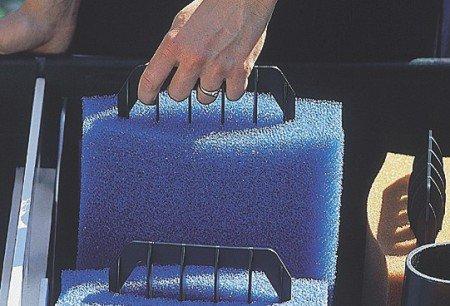 OASE Zubehör Filter, Ersatzschwamm Bio-Smart, blau,19,7 x 18,0 x 8,2 cm, 35792 (Bio Teich Blauer)