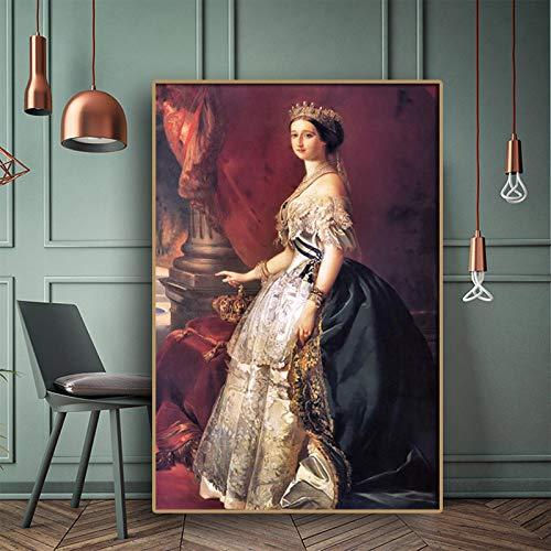 RTCKF Ritratto Arte Canzone d'Angelo William Adolf Ritratto su Tela Famoso Dipinto ad Olio Pop Art Poster e incisioni Soggiorno Pittura murale (Senza Cornice) A2 30x40CM
