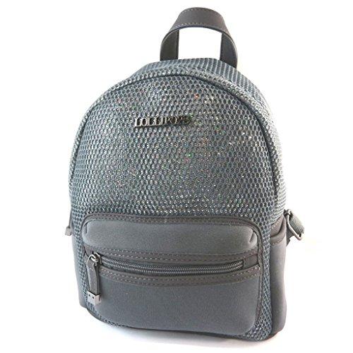 Bag designer 'Lollipops'grigio - 27x22x10 cm.