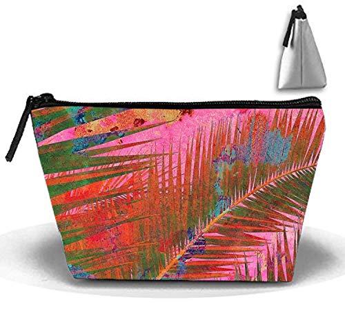 Malerei Sommerblätter für Frida Unisex große Wäsche Kulturbeutel Make-up-Taschen