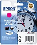 Epson Alarm Clock No.27XL Series High Capacity Ink Cartridge - Magenta