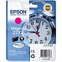 Epson Alarm Clock No.27 XL Series High Capacity Ink Cartridge - Magenta