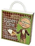 Pralinenschachtel Super Opa als kleines Geschenk für Männer | Lustiges Pralinen Geschenk | Geschenkbox für Opas witzige Geschenkidee zum Geburtstag