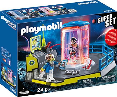 PLAYMOBIL 70009 SuperSet Galaxy Police Gefängnis, bunt