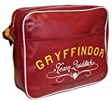 Harry Potter Courer Bag Sac bandoulière, 34 cm, 9800 liters, Noir (Red)