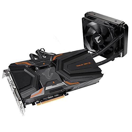 Best Price Gigabyte GV-N108TAORUSX W-11GD Nvidia AORUS GeForce GTX 1080 Ti Waterforce Xtreme Edition 11G PCI Express Graphics Card – Black Special