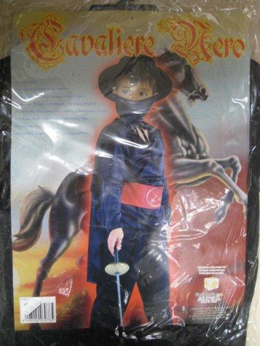 7 Ritter Kostüm - Kostüm Ritter schwarz M 5-7Jahre
