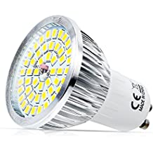 GU10 LED Lámpara 6 W 3000 – 6000 K 48 x 2835 SMD, equivale a