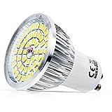1X GU10 LED Lampen 6W Warmweiß GU10 LED Warmweiß 3000K 48x2835-SMD, ersetzt 50W Halogenlampen 120° Abstrahwinkel LED Birnen Leuchtmittel 520lm AC 220V
