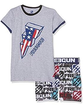 Freegun Jungen Sportswear-Set Eg.Freeheroes.Psh.Mz