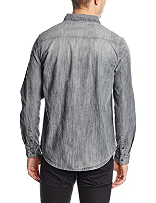 New Look Men's Denim Western Casual Shirt