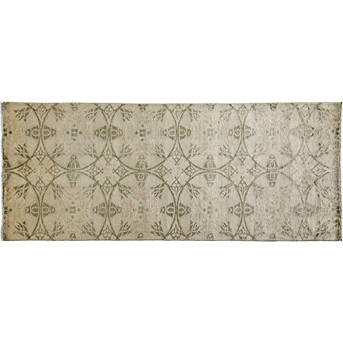 Solo Rugs Eclectic Hand Knotted Runner Rug 4' 1