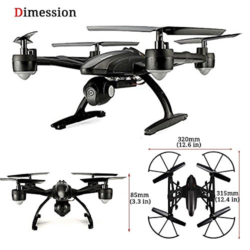 GoolRC 509W Drone with Camera Live Video Wifi FPV RC Quadcopter with APP Control & Gravity Motion Sensor function for Android/IOS,Altitude Hold & Headless Mode & One Key Return