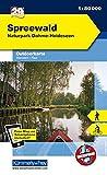 Deutschland Outdoorkarte 29 Spreewald 1 : 50.000: Nationalpark.Dahme-Heideseen. Wanderwege, Radwanderwege, Nordic Walking (Kümmerly+Frey Outdoorkarten Deutschland) -