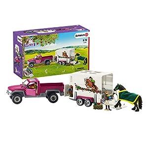 Schleich - Horse Club, Camioneta con Remolque para Caballos