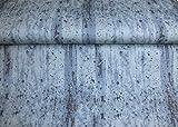 Javi Comic Rock Background blau Sweatshirtstoff Kinderstoff geraut 1 Meter