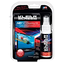 Klear Screen Display Cleaning Kit for HDTV, LCD, Laptops and 3D Glasses with Solution and Cleaning Cloth