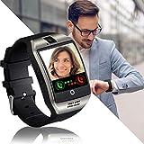 Smartwatch, Reloj Iinteligente Mujer Hombre Niña con Ranura para Tarjeta SIM Pulsera Actividad Sincronizar Llamadas y Notificaciones para Xiaomi Huawei Samsung Honor Remi V Mobile Android iOS (Plata)