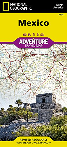 Mexico: Travel Maps International Adventure Map