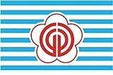 UB Aufkleber Taipeh 12 cm x 8 cm Flagge / Fahne (Autoaufkleber)