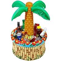 WIDMANN WDM04865 - Costume Per Adulti Palma Portabibite Gonfiabile, 62 cm, Multicolore, Taglia Unica