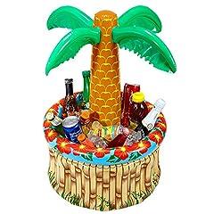 Idea Regalo - WIDMANN WDM04865 - Costume Per Adulti Palma Portabibite Gonfiabile, 62 cm, Multicolore, Taglia Unica