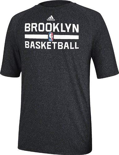 adidas Brooklyn Nets 2013 NBA Practice Climalite Performance T-Shirt