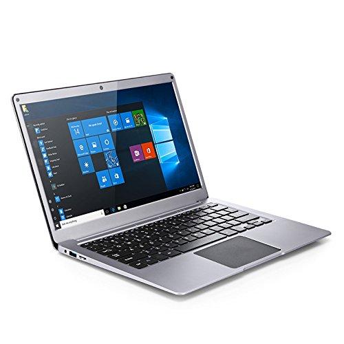 "Yepo 737A Ultrabook 13.3 ""* 1920 1080, Windows10 Quad-Core-Laptop mit Intel Celeron N3450 6GB + 64GB, Lange Akkulaufzeit, Dual-WIFI BT 4.0 HDMI Unterstützungs-TF-Karte bis zu 128GB 0.3MP Zimmer EU-Silber"