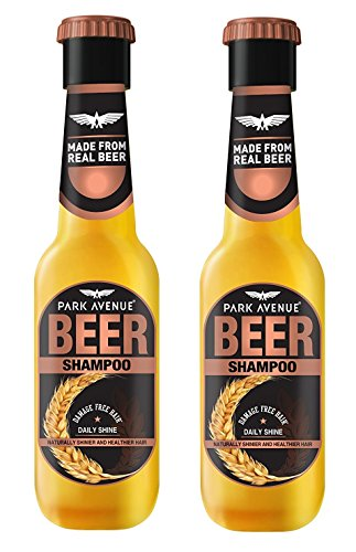 Park Avenue Daily Shine Beer Shampoo for Men, 180ml (Pack of 2)