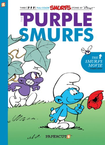 The Smurfs HC 01 The Purple Smurf